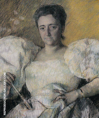 Louisine Havemeyer 1896 By Mary Cassatt