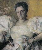 Louisine Havemeyer 1896 By Mary Cassatt