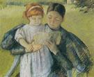 Nurse Reading to a Little Girl 1895 By Mary Cassatt