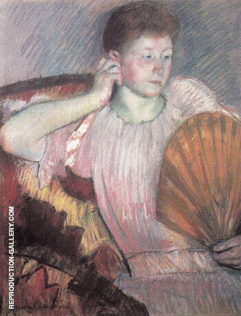 Contemplation 1891 By Mary Cassatt