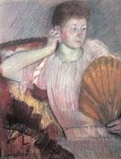 Contemplation 1891 By Mary Cassatt