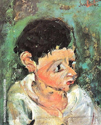 Portrait of Charlot c1937 By Chaim Soutine