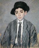 Portrait of Charles Dikran Kelekian Aged 12 1910 By Mary Cassatt