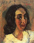 Portrait of a Woman c1940 By Chaim Soutine