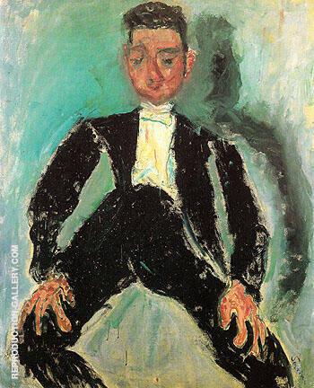 The Groom c1924 By Chaim Soutine