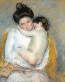 Mother and Child 1900 A By Mary Cassatt