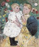 In the Garden 1893 By Mary Cassatt