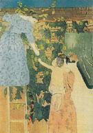 Gathering Fruit c1895 By Mary Cassatt