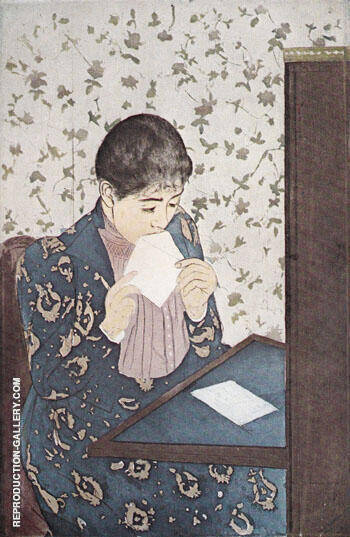 The Letter 1891 By Mary Cassatt
