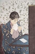 The Letter 1891 By Mary Cassatt