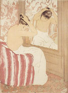Study 1890 By Mary Cassatt