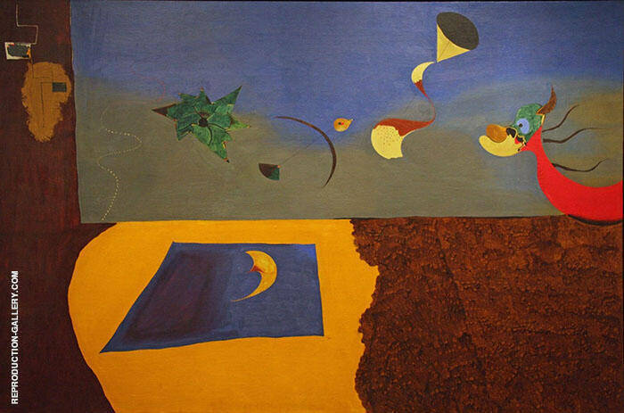 Animated Landscape 1927 By Joan Miro