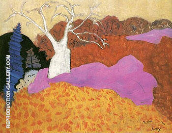 Reproduction of Autumn 1944 by Milton Avery | Oil Painting Replica On CanvasReproduction Gallery