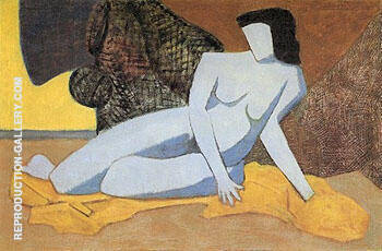 Blue Nude 1947 By Milton Avery