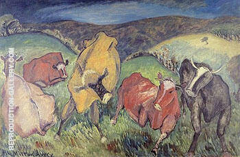 Bucolic Landscape 1930 By Milton Avery - Oil Paintings & Art Reproductions - Reproduction Gallery