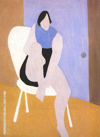 Sally 1946 By Milton Avery - Oil Paintings & Art Reproductions - Reproduction Gallery