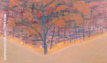 Autumn 1955 Painting By Milton Avery - Reproduction Gallery