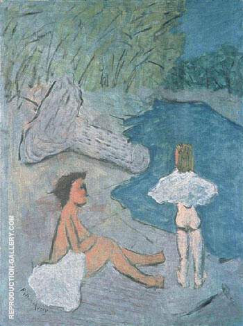 Country Brook 1938 By Milton Avery - Oil Paintings & Art Reproductions - Reproduction Gallery