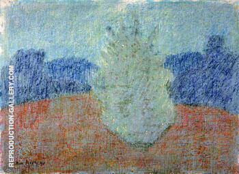 Morning Landscape 1954 By Milton Avery Replica Paintings on Canvas - Reproduction Gallery