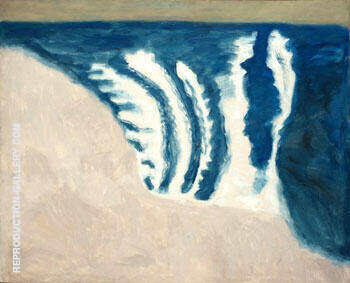 Rolling Surf 1958 Painting By Milton Avery - Reproduction Gallery