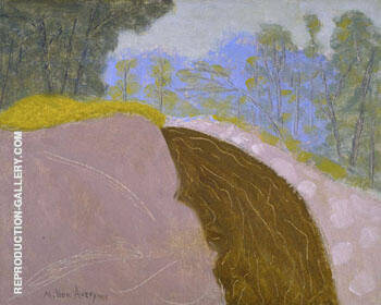 Spring Brook 1955 By Milton Avery