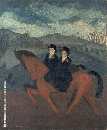 Sunday Riders 1929 By Milton Avery