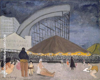 The Steeplechase Coney Island 1929 By Milton Avery