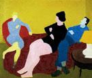 Three Friends 1944 By Milton Avery