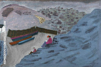 Canadian Cove 1940 By Milton Avery
