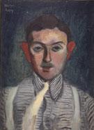 Striped Shirt 1932 By Milton Avery