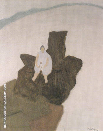 Madonna of the Rocks 1957 By Milton Avery