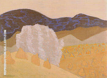 Harvest 1953 By Milton Avery