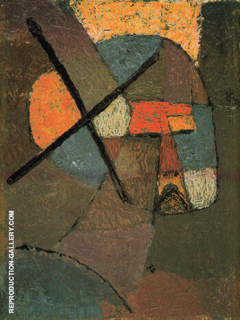Struck from the List 1933 By Paul Klee - Oil Paintings & Art Reproductions - Reproduction Gallery