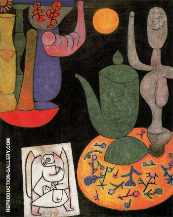 Still Life Ohne Titel Stilleben 1940 By Paul Klee Replica Paintings on Canvas - Reproduction Gallery