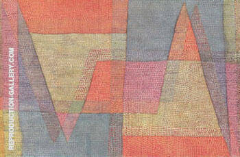 Light and Ridges 1935 By Paul Klee Replica Paintings on Canvas - Reproduction Gallery