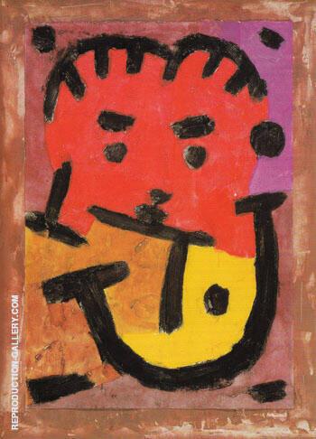 Musician 1937 By Paul Klee