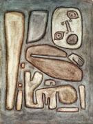 Outbreak of Fear III 1939 By Paul Klee