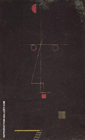 Portrait of an Acrobat 1927 By Paul Klee