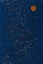 Colour Lightning 1927 By Paul Klee