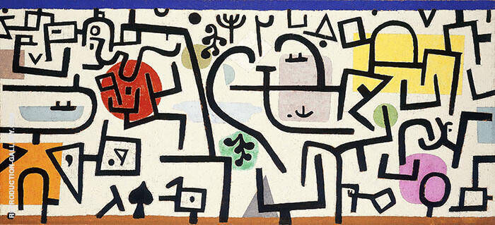Rich Harbor 1938 Painting By Paul Klee - Reproduction Gallery
