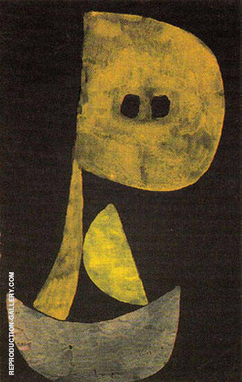 Severe Countenance 1939 By Paul Klee