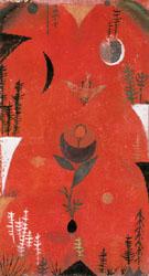 Flower Myth 1918 By Paul Klee