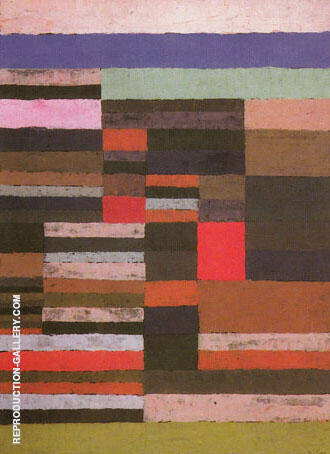 Individualized Measurement of the Strata 1930 By Paul Klee - Oil Paintings & Art Reproductions - Reproduction Gallery