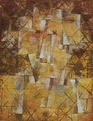 God of the Northern Woods 1922 By Paul Klee