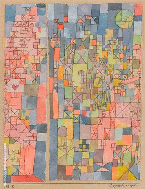 Dogmatic Composition 1918 By Paul Klee
