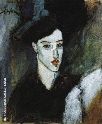 The Jewess c1908 By Amedeo Modigliani