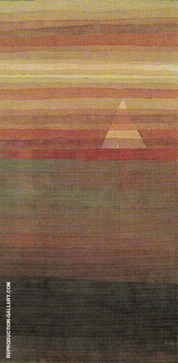 Lonely 1928 By Paul Klee