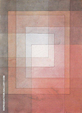Polyphonic Setting for White 1930 By Paul Klee Replica Paintings on Canvas - Reproduction Gallery