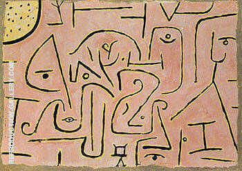Contemplating 1938 By Paul Klee