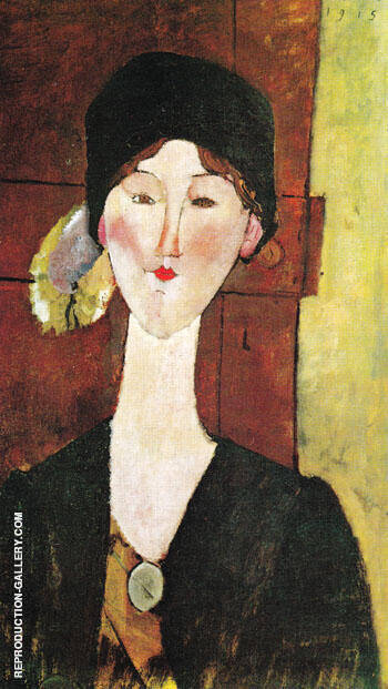 Beatrice Hastings 1915 By Amedeo Modigliani